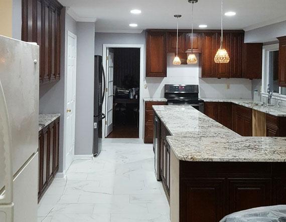Kitchen Renovation - Diaz Painting LLC